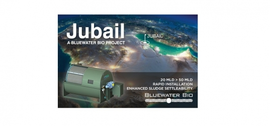 Bluewater Bio awarded contract for HYBACS® Upgrade at Jubail