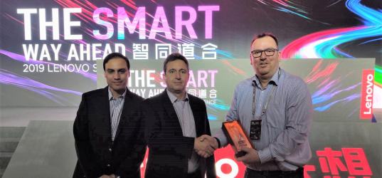 P2i Scoops Lenovo Award for Technology Innovation