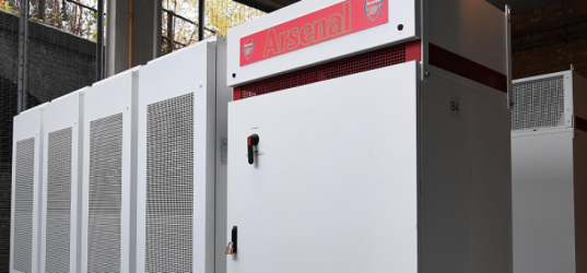 Open Energi partners with Pivot Power to optimise Arsenal battery